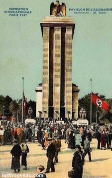 """Пропаганда и реклама. Всемирная выставка в Париже 1937 Германия """"Три"""" popsa.biz"""