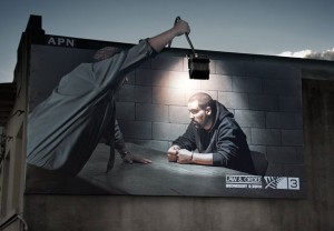 popsabiz-Реклама сериала-Закон и порядок на канале TV3