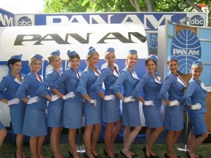 popsabiz-реклама на стюардессах США