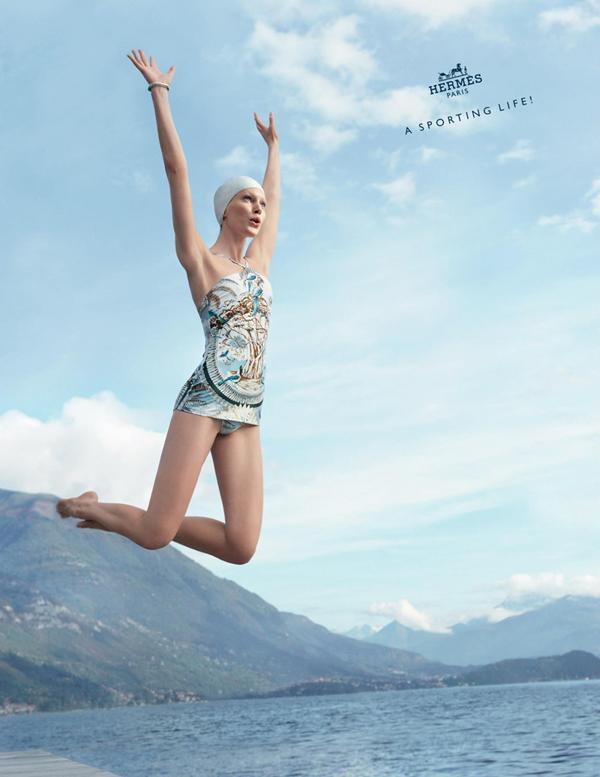 popsa biz Рекламная кампания Hermes