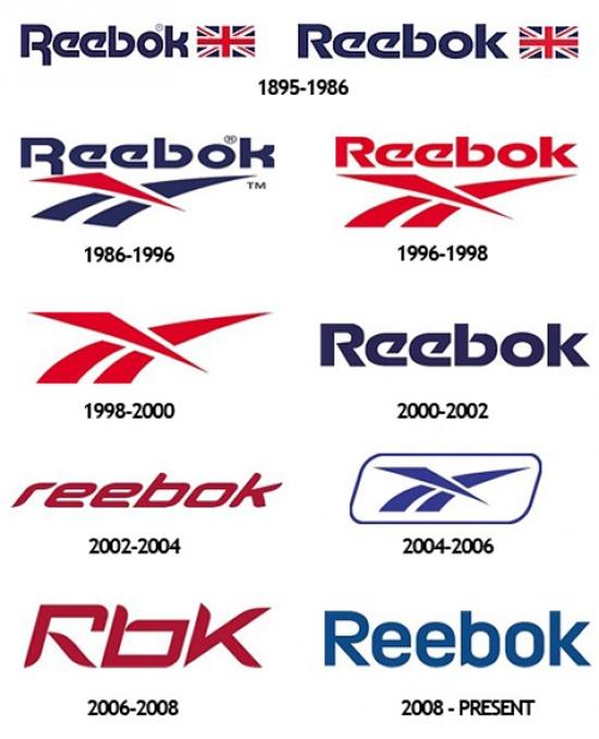 Reebok история логотипов popsa.biz