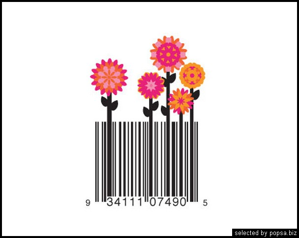 popsa.biz - креативные barcode - креативные баркоды штрих коды -24