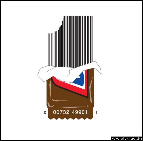 popsa.biz - креативные barcode - креативные баркоды штрих коды -27