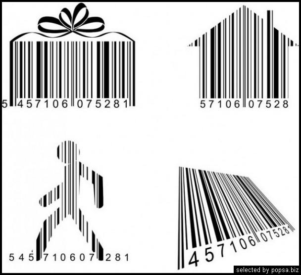 popsa.biz - креативные barcode - креативные баркоды штрих коды -43