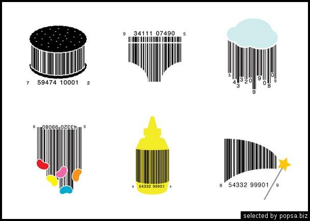 popsa.biz -  креативные баркоды штрих коды -46