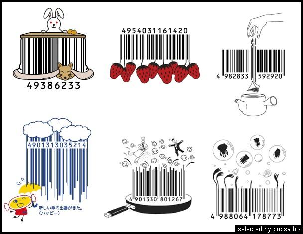 popsa.biz -  креативные баркоды штрих коды -47