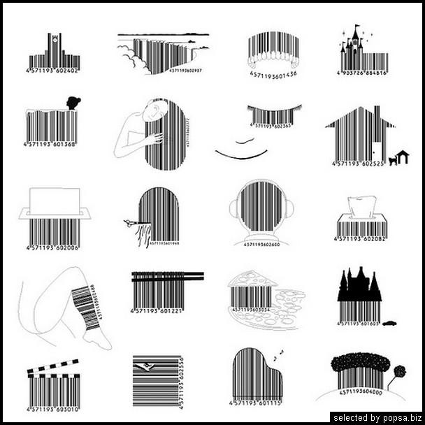 popsa.biz -  креативные баркоды штрих коды -49