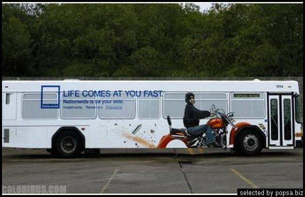 popsa biz реклама на автобусах 45