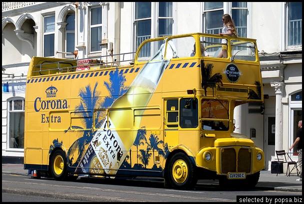 popsa.biz - реклама на автобусах