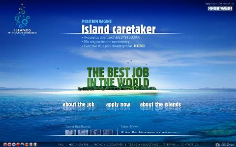 best job in the world реклама страны popsa.biz