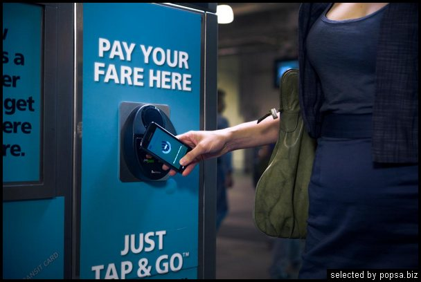 popsa biz электронные платежи технология NFC