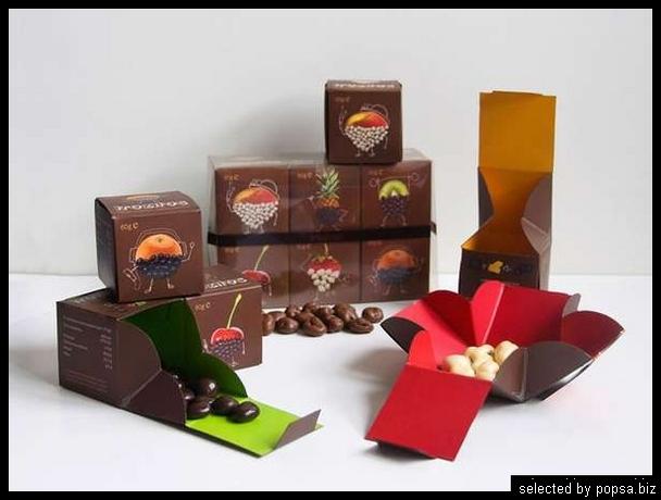popsa biz - креативная упаковка еды напитков 05