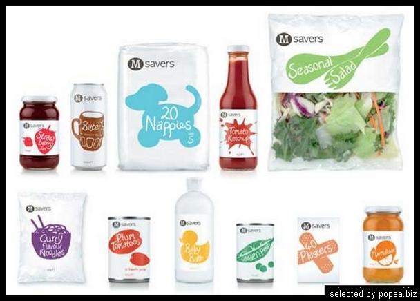 popsa biz - креативная упаковка еды напитков 07