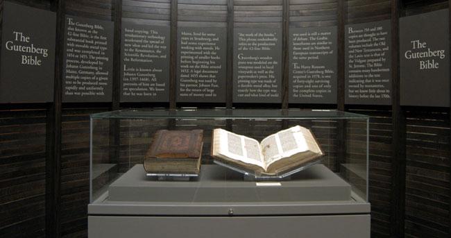 библия гуттенберга бумажные книги