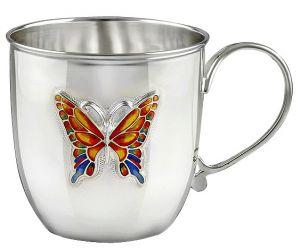 чашка столовое серебро Glasko