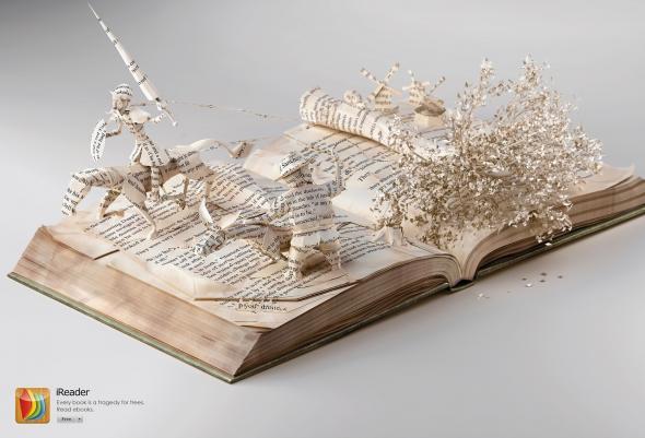 ereader реклама книг popsa.biz
