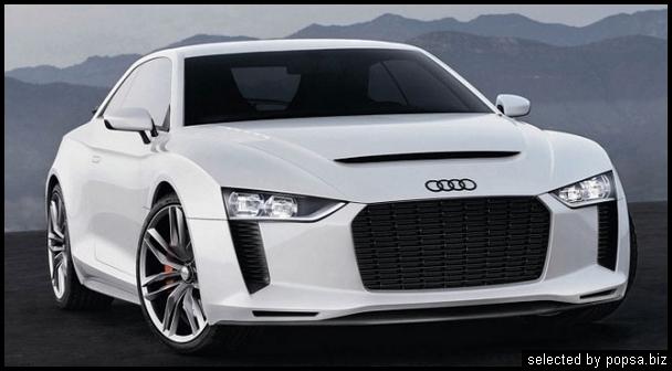 popsa biz Audi Quattro Concept гибридные автомобили
