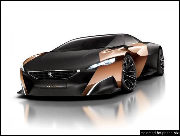 popsa biz Peugeot Onyx Concept гибридные автомобили
