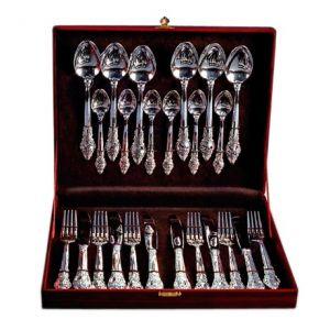 серебрянный набор серебрянная посуда Glasko