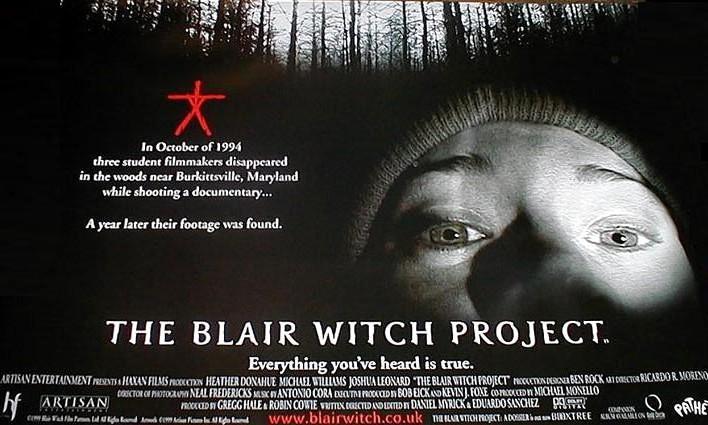 Ведьма из Блэр мокьюментари