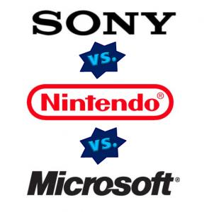 Игровые приставки как бизнес или консольные войны: Sony, Microsoft, Nintendo. - popsa.biz