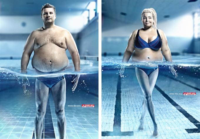 реклама фитнеса popsa.biz